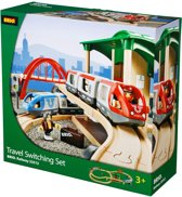 Brio Travel Switching Set met Spoorweg
