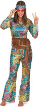 Hippy Flower Power Kostuum Dames | maat M ( 40 - 42 )
