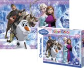 Clementoni Disney Frozen (104 stukjes)