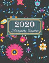 2020 Budgeting Planner: Colorful Floral Daily Weekly & Monthly Calendar Expense Tracker For Financial Planner
