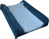 Snoozebaby Happy Dressing  Aankleedkussenhoes (45 x 70cm) Indigo Blue