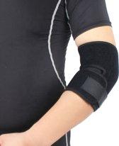 BUCHNER Elleboogbrace - Zwart - One Size - Verstel