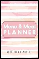 Menu & Meal Planner Nutrition Planner