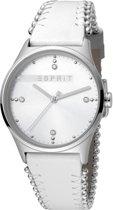 Esprit ES1L032L0015 horloge dames - wit - edelstaal