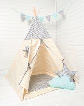 FUJL Tipi Tent - Speeltent - Wigwam - ster patroon