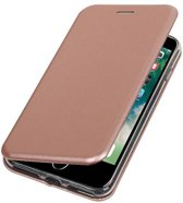 BestCases.nl Apple iPhone 7 Plus / 8 Plus Folio leder look booktype hoesje Roze
