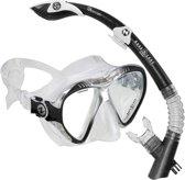 Aqua Lung Sport Magelan + Atlantis GoPro Black - Snorkelset - Zwart