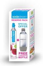 SodaStream Reserve Pack cilinder + grijze fles 1L