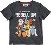 LEGO-Star-Wars-T-shirt-met-korte-mouw-grijs-maat-116