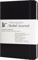 Hieroglyphs Bullet Journal - 100 grams papier - harde kaft - met Handleiding en Inspiratie - Nederlands - zwart