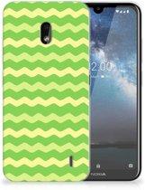 TPU bumper Nokia 2.2 Waves Green