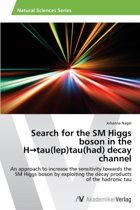 Search for the SM Higgs Boson in the H Tau(lep)Tau(had) Decay Channel