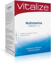 Vitalize Multivitamine Compleet A t/m Z 120 tabletten voordeelverpakking