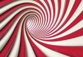 Fotobehang Abstract Swirl | PANORAMIC - 250cm x 104cm | 130g/m2 Vlies
