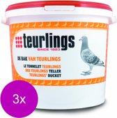 Teurlings Bak Van Teurlings - Duivensupplement - 3 x 5 kg