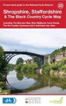Shropshire, Staffordshire & The Black Country Cycle Map
