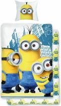 Minions Smile - Dekbedovertrek - Eenpersoons - 140 x 200 cm - Multi colour
