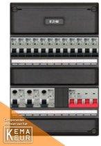 EMAT groepenkast 1/3 fase met 12 groepen en afmetingen 330x220 mm