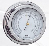 ANVI chroomkleurige Barometer Ø 150 mm