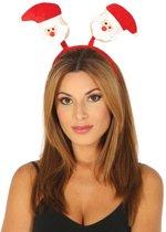 Kerst Haarband Kerstman Rood