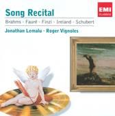 Songs: Brahms, Fauré, Finzi, Schubert