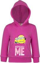 Minions roze sweater maat 128