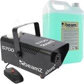Rookmachine - BeamZ S700 rookmachine met meer dan 5 liter rookvloeistof