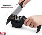 Messenslijper - Zwart - Anti slip - Messen slijper - Slijpen - Mes - Messenslijpers