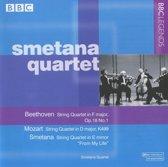 Beethoven: String Quartet, Op. 18/1; Mozart: String Quartet, K499; Smetana: String Quartet ''From My Life''