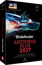 Bitdefender Antivirus Plus 2017 -  Nederlands / Frans - 1 Apparaat - 1 Jaar - Windows