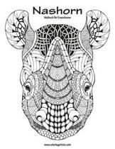 Nashorn-Malbuch F r Erwachsene 1
