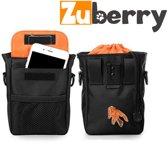 Zuberry Beloningszakje - Snacktasje Hond - Trainingstasje Incl. Clicker & Voederschaal - Buidel voor hondenkoekjes, poepzakjes etc. - Treat pouch