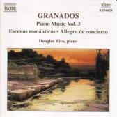 Granados: Piano Music Vol 3 / Douglas Riva
