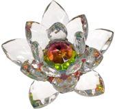Yogi & Yogini naturals Kristal Lotus middel (7 cm)