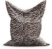 Zitzak Zebra maat L