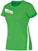 Jako - T-Shirt Athletico Dames - zachtgroen/wit - Maat 38
