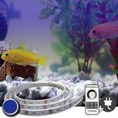 70 t/m 100 cm BLAUW complete set aquarium led strip