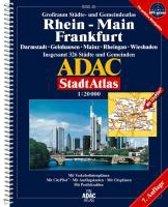 ADAC Städte- und Gemeindeatlas Rhein-Main / Frankfurt 1 : 20 000