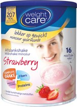 Weight Care Maaltijdshake Aardbei - 436 gram