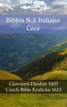 Bibbia N.2 Italiano Ceco