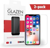 2-pack BMAX Glazen Screenprotector iPhone X
