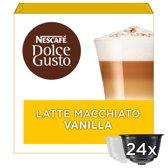 NESCAFÉ® Dolce Gusto® Vanilla Latte Macchiato koffie cups - 3 x 16 capsules