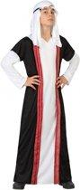 Arabische sjeik kostuum voor kinderen 140 (10-12 jaar)