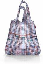 Reisenthel Mini Maxi Shopper - Opvouwbare boodschappentas - Polyester - 15L - Structure Blauw