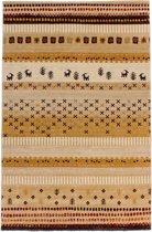 Moderne Inka Vloerkleed  - 160X230cm - Beige