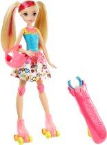 Barbie Video Game Hero Met Lichtgevende Rolschaatsen - Barbiepop