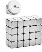Super sterke magneten - Vierkant - 10 x 10 x 10 mm - 20 stuks