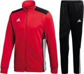 adidas Trainingspak - Maat L  - Mannen - rood/zwart/wit