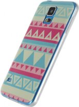 Xccess TPU Case Samsung Galaxy S5/S5 Plus/S5 Neo Hipster Turquoise