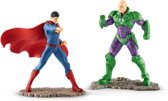 Schleich 22541 Scenery Pack Superman Vs Lex Luthor